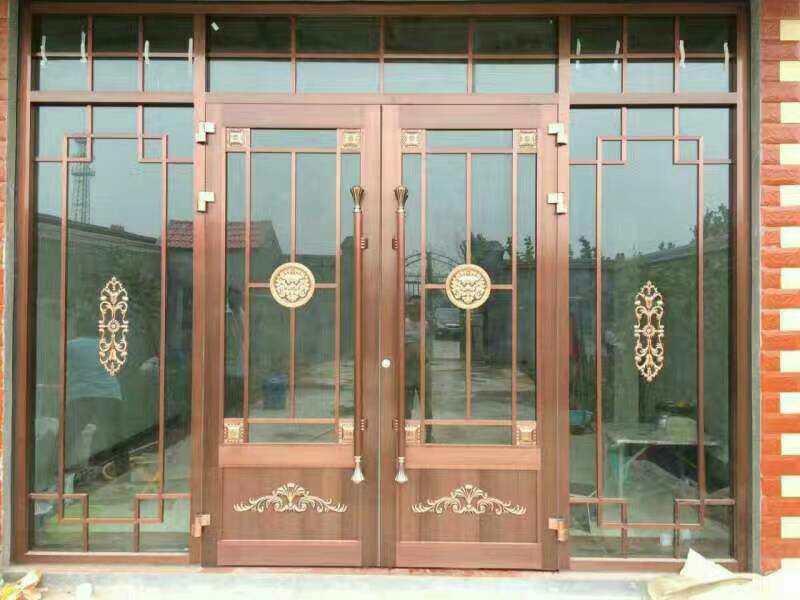 仿铜艺术门
