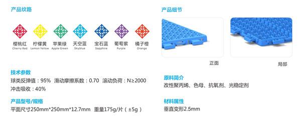 四川双层纹悬浮拼装地板