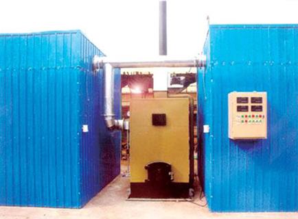 木材热风蒸汽烘干设备