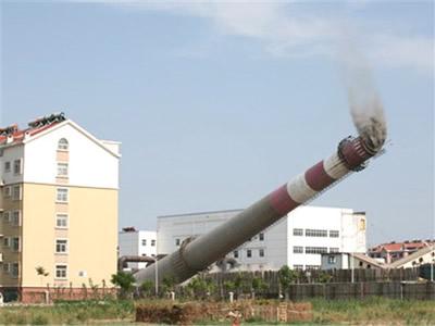 济南烟囱拆除公司