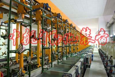 全自动电镀生产线设备