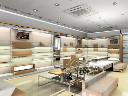 女鞋展櫃設計製作廠家