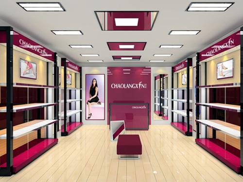 贵州女鞋展柜