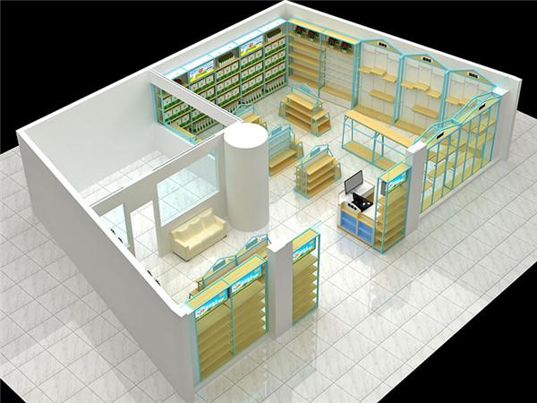 貴陽奶粉展示櫃