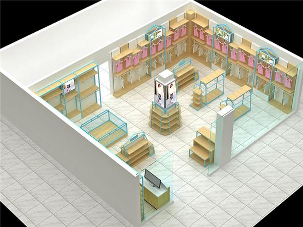 贵州男装展柜定制生产厂家