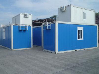 石家庄彩钢活动房集装箱活动房的优点 为建筑工地提高居住条件