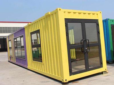 【组图】石家庄集装箱活动房如何防风 集装箱活动房的进展前景