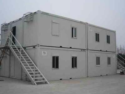 【原创】集装箱活动房制作简单 重复利用,节约资源