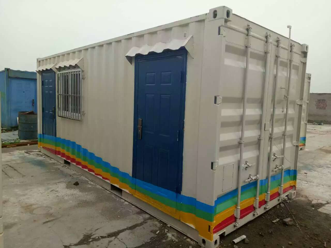 【图文】集装箱活动房的选材_石家庄集装箱活动房的特性