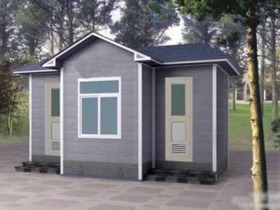 石家庄活动房厕所