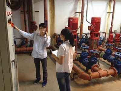 消防檢測流程