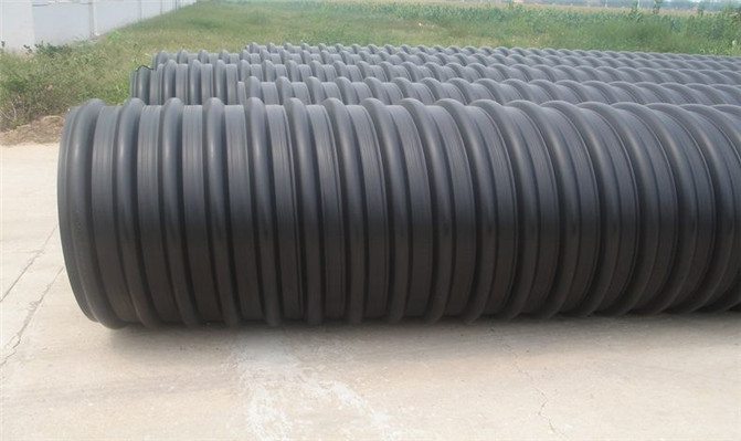 西安HDPE钢带增强波纹管