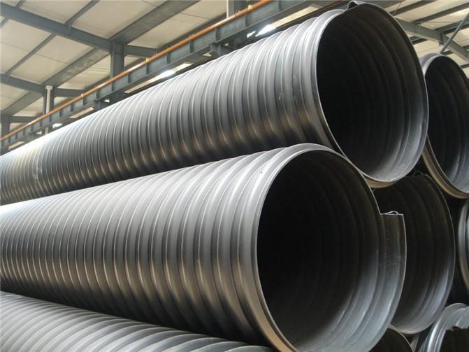宁夏HDPE钢带增强波纹管