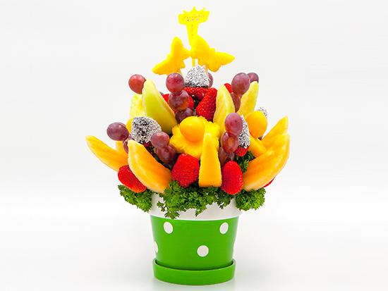 休闲欢聚水果花