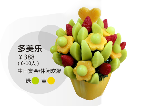 欢聚水果花