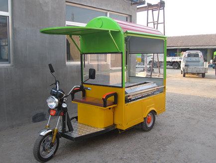 【热】电动餐车的充电方式 电动三轮餐车的正确充电时间