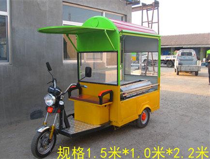 【图】电动餐车错误的充电方式 电动三轮餐车优势在哪些方面