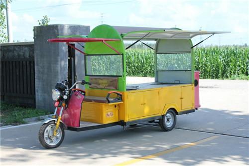 流动送餐车