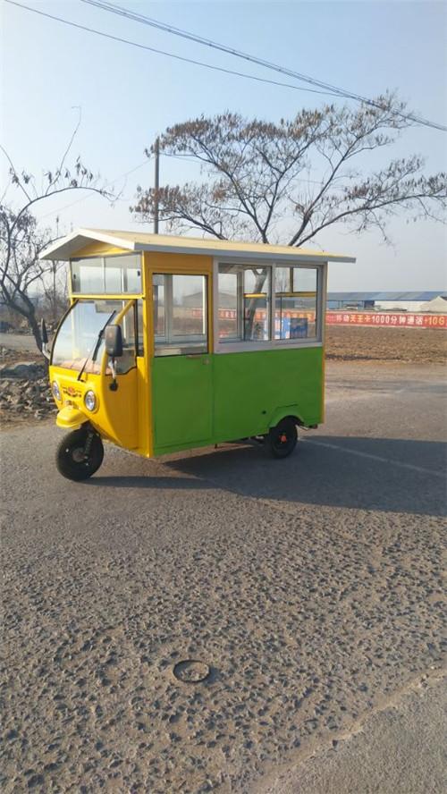 电动流动餐车
