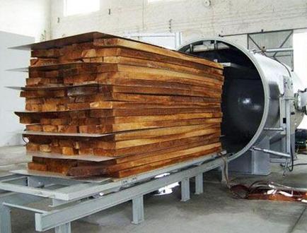 大型木材烘干机
