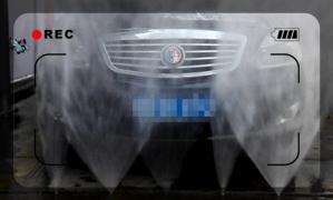 旋转喷头洗车机