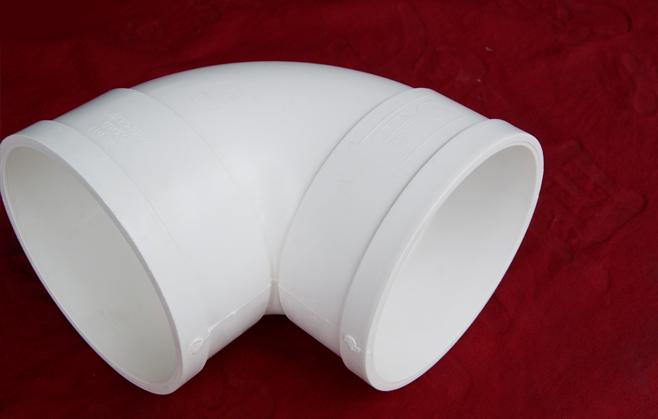 PVC国标排水90度弯头