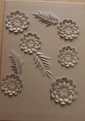 浮雕背景墙制作