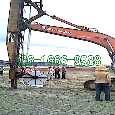 陆域排水板施工