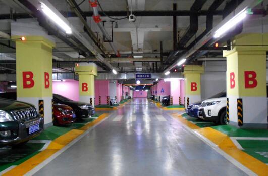 黄石武汉地下停车场地坪