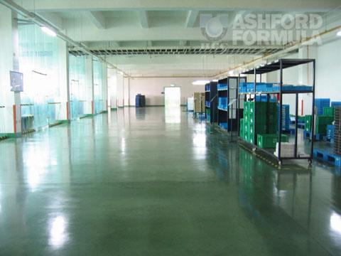 相川铁龙(无锡)电子有限公司生产车间