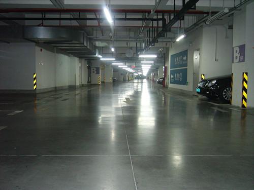 停车场地坪施工