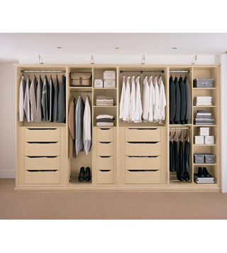 实木整体衣柜定制