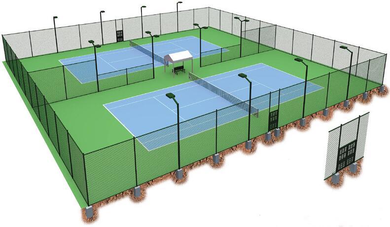 塑胶网球场方案