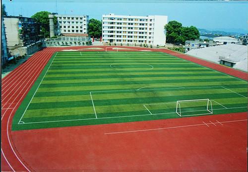 武汉人造草足球场