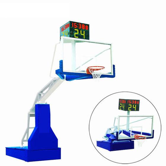 液压篮球架(带24s)