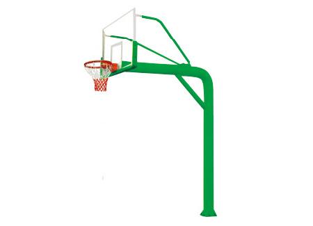 圆管预埋篮球架