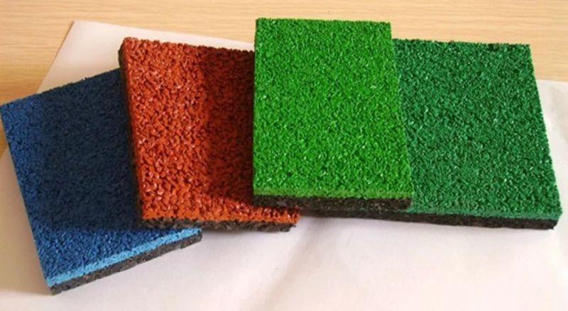 复合型安全地垫(现浇)