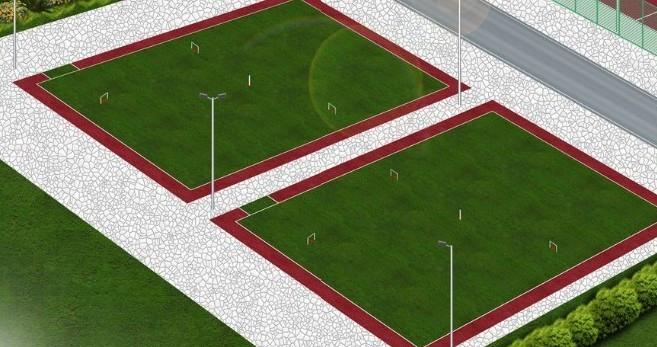 门球场效果图
