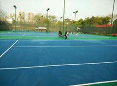 公园丙烯酸网球场