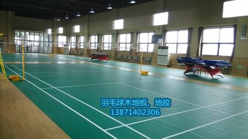 木地板体能训练馆