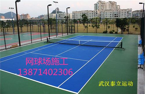 武汉篮球场施工室外篮球场工程分享硅PU篮球场的简介 黄石塑胶篮球场施工后怎么防滑