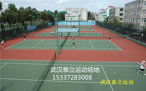 武汉塑胶球场施工