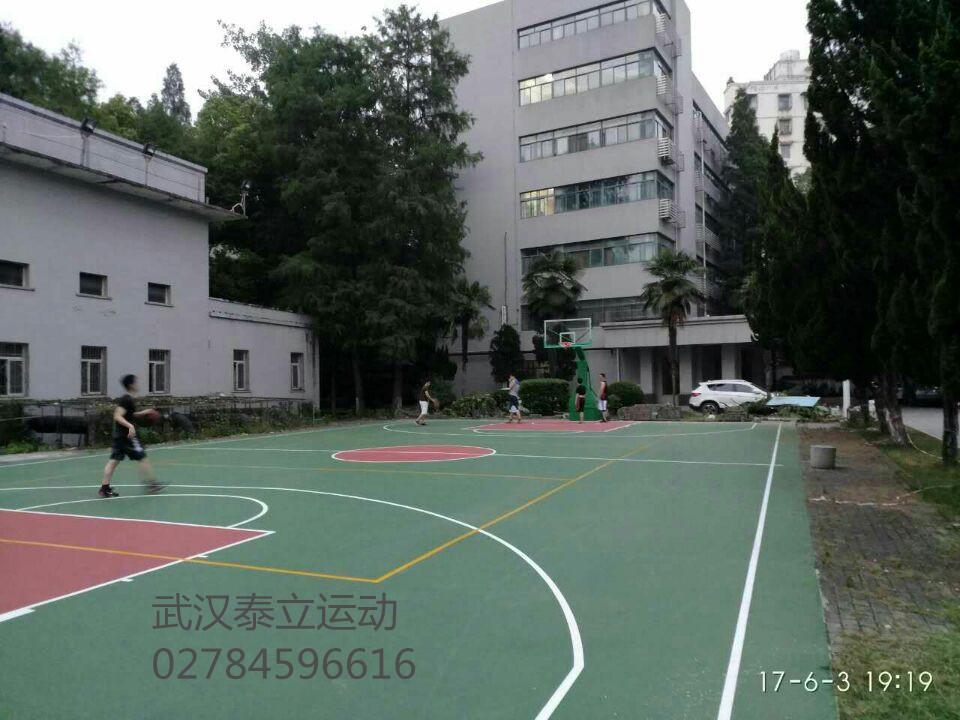 篮球场地施工