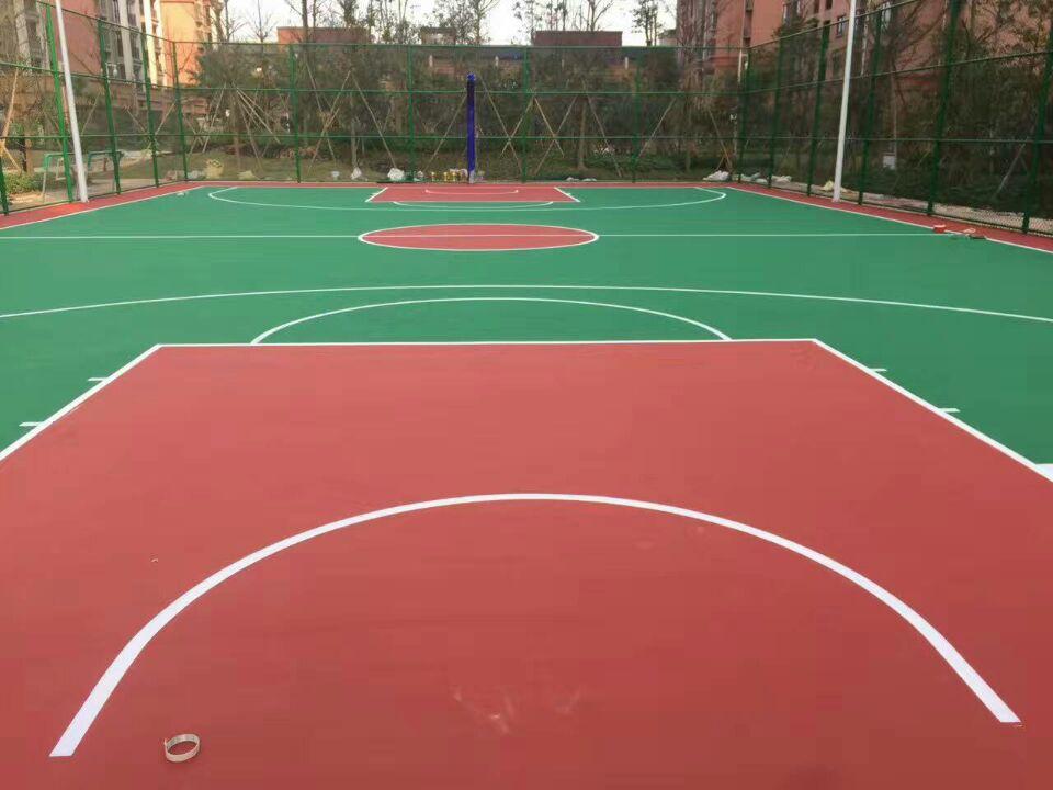 塑胶篮球场