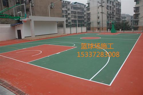 篮球场维修