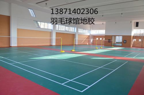 大学室内羽毛球运动地板
