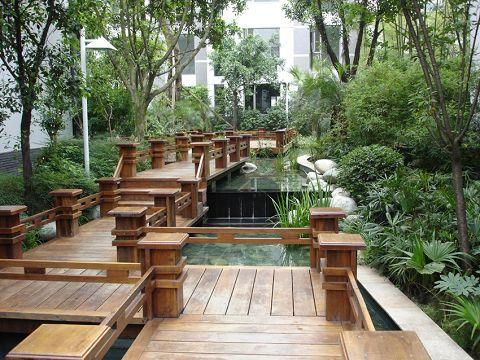 防腐木木桥地板