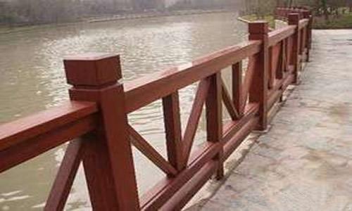 景区防腐木护栏