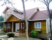 防腐木木屋别墅