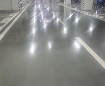 停车场地坪工程 固化地坪